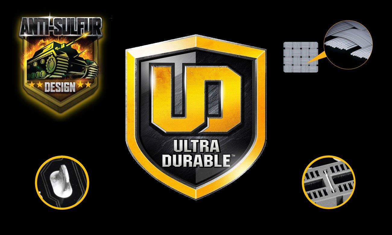 Gigabyte B360M D2V Wytrzymałość Ultra Durable