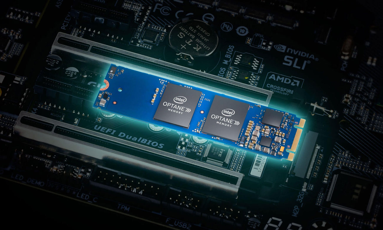 Gigabyte B360M DS3H M.2 SSD Intel Optane