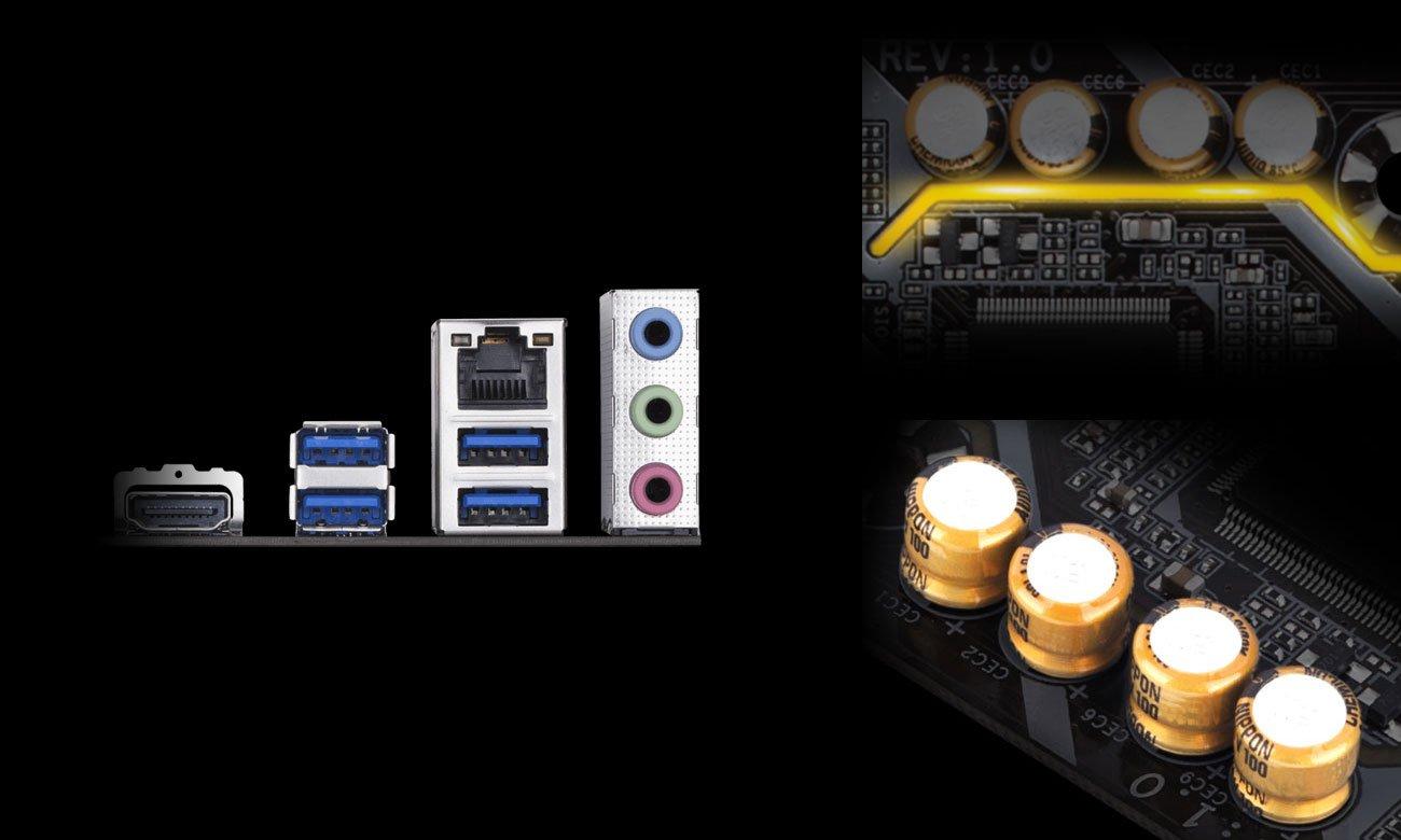 Gigabyte B360M DS3H Układ audio