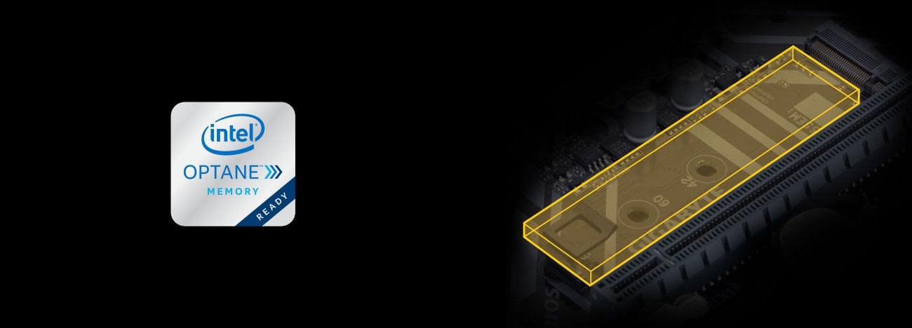 Gigabyte B360M HD3 Złącze M.2, Intel Optane