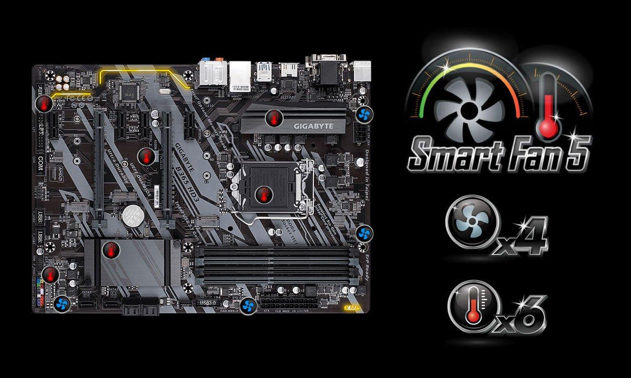 Gigabyte B365 HD3 - Smart Fan 5