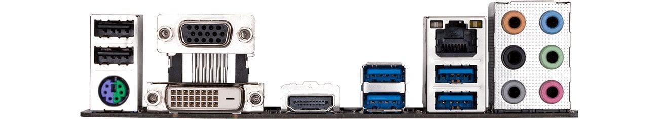Gigabyte B365 HD3 - Złącza