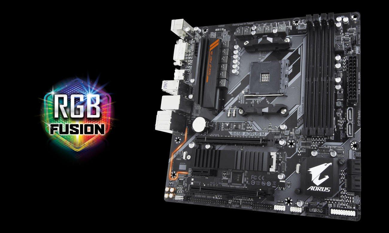 Gigabyte B450 AORUS M RGB Fusion