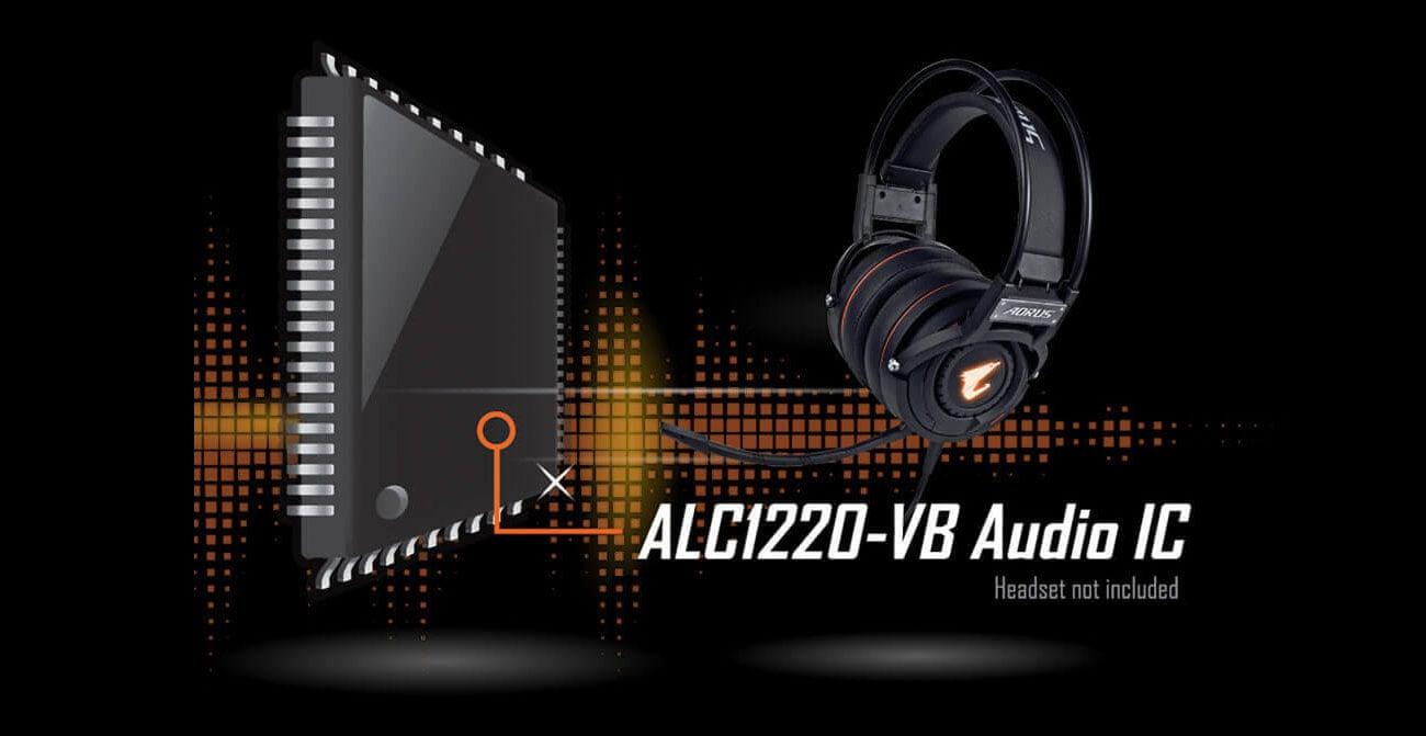 Gigabyte B450 I AORUS PRO WIFI Układ audio