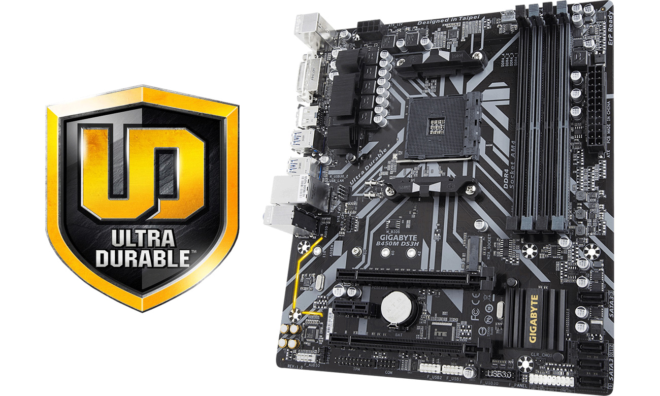 Gigabyte B450M DS3H Ultra Durable