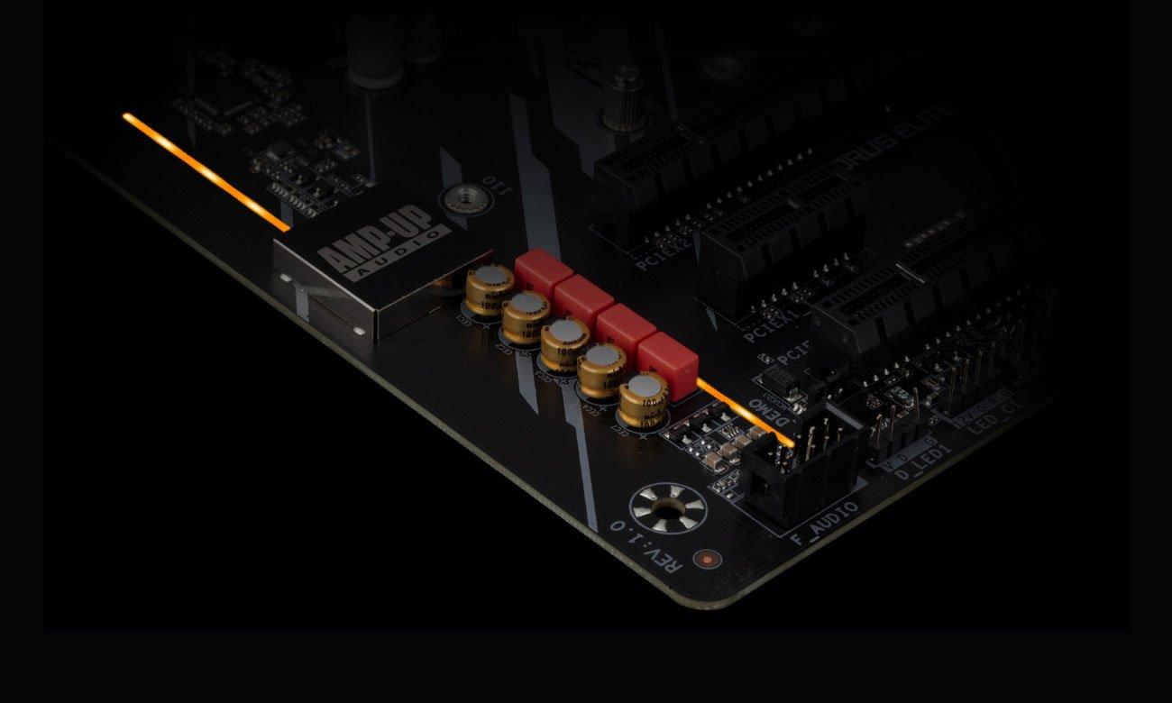 Gigabyte B550 AORUS Elite V2 - Układ audio