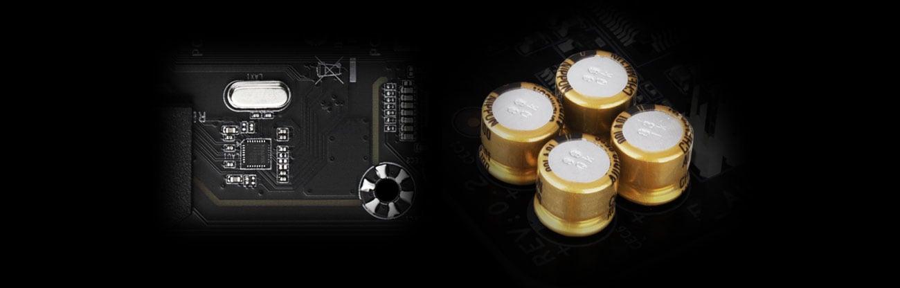 Gigabyte B550M AORUS ELITE - Audio