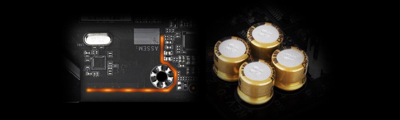 Gigabyte B550M AORUS PRO-P - Audio