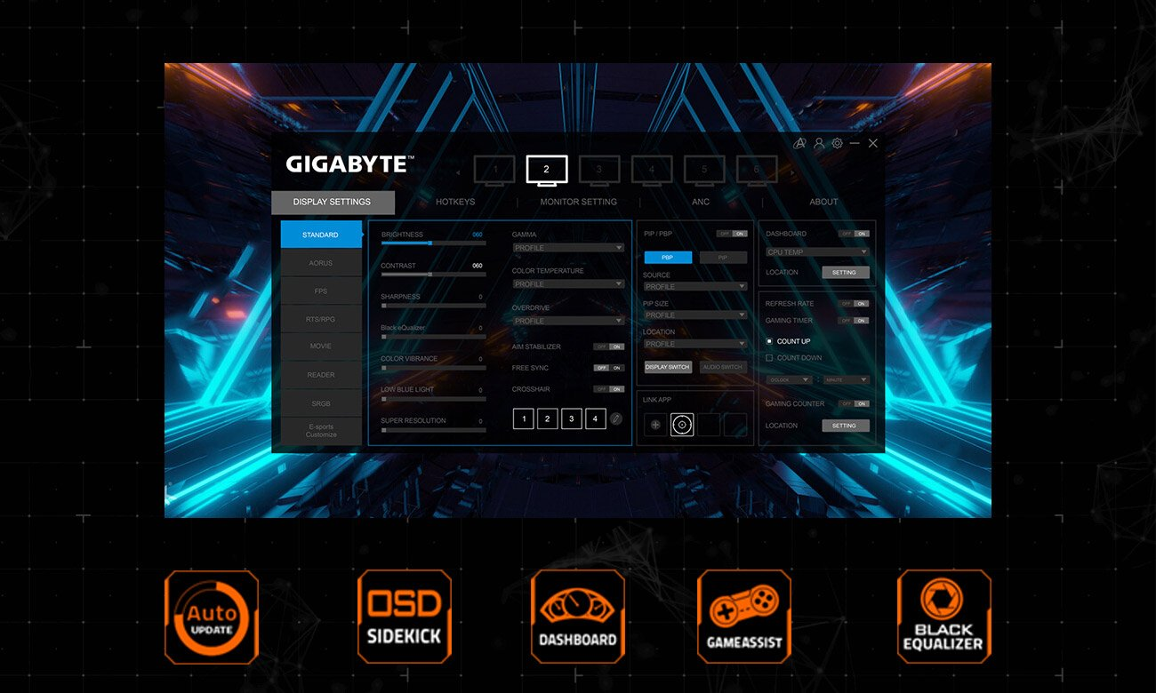 Monitor dla graczy Gigabyte G32QC Curved