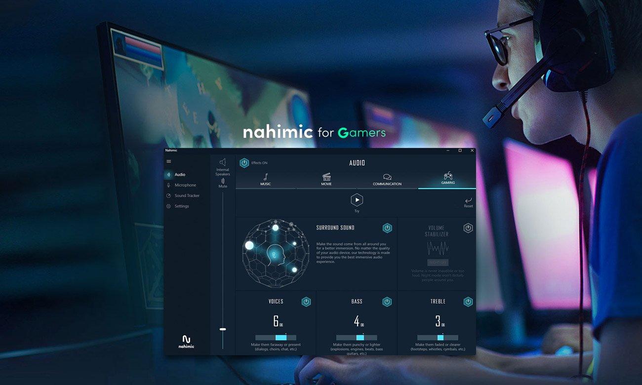 Gigabyte G7 KC i technologia NAHIMIC 3