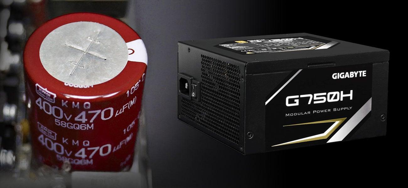 Zasilacz do komputera Gigabyte G750H 750W