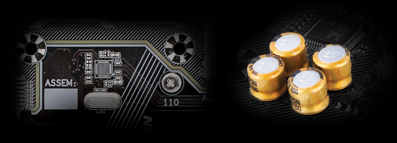 Gigabyte GA-A320M-S2H rev. 3.0 - Audio