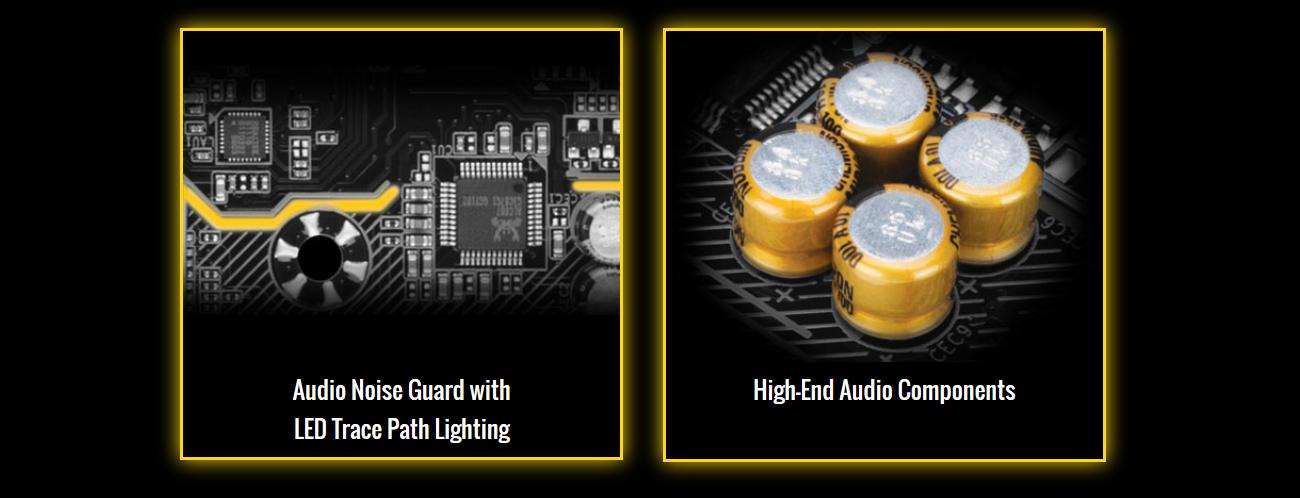 Gigabyte GA-AB350M-HD3 Doskonały dźwięk