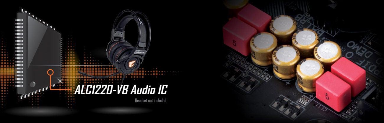 Gigabyte GA-X470-AORUS ULTRA GAMING Audio AORUS, Realtek ALC1220-VB