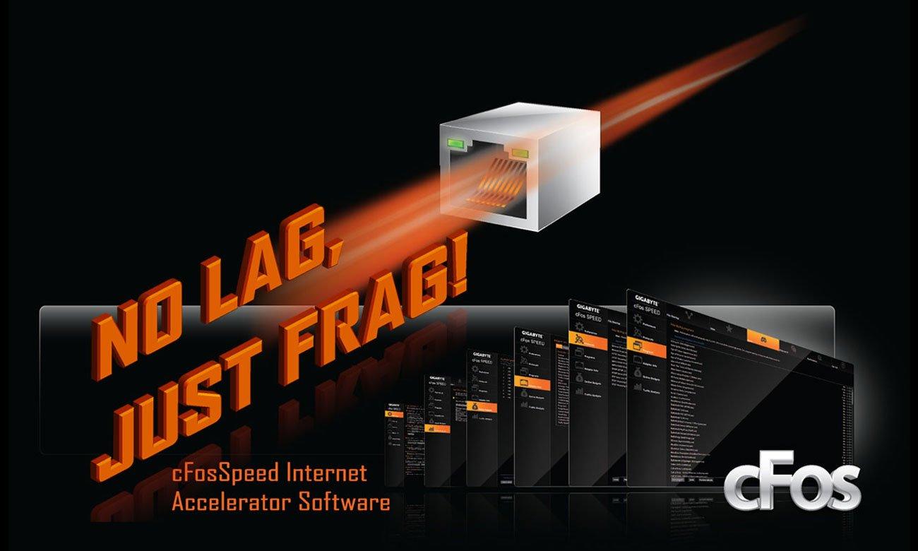 Gigabyte GA-X470-AORUS ULTRA GAMING  Intel Gigabit LAN, cFosSpeed