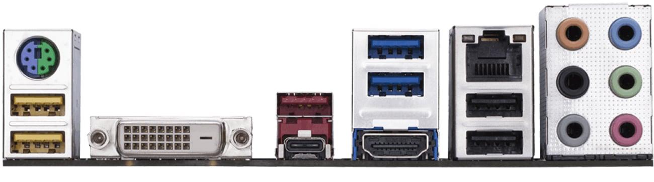 Płyta główna Gigabyte GA-Z270-GAMING K3 Porty
