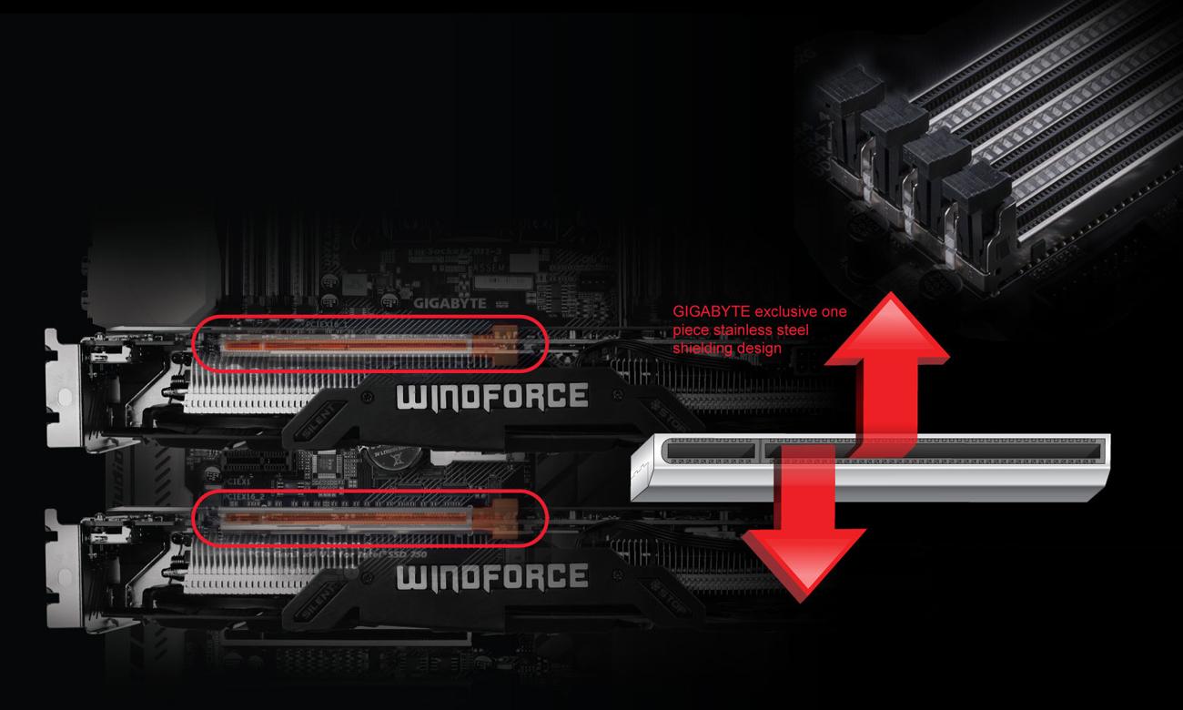 Gigabyte GA-Z270X-ULTRA GAMING Ultra Durable™ PCIe Armor