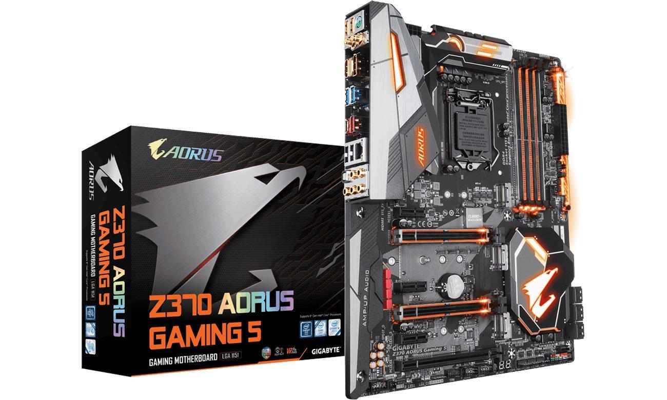 Płyta główna Socket 1151 Gigabyte Z370 AORUS Gaming 5 GA-Z370-AORUS-Gaming-5