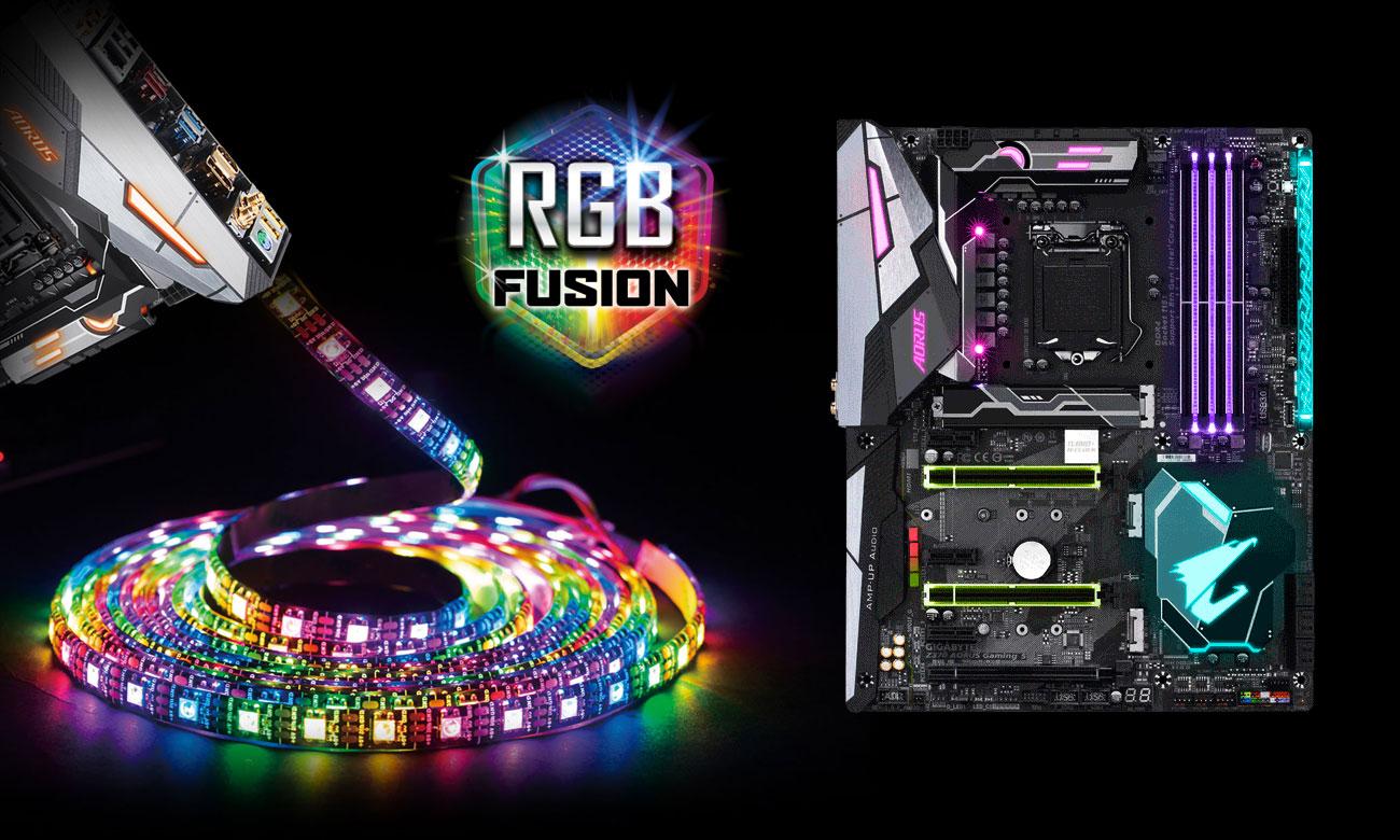 Gigabyte Z370 AORUS Gaming 5 RGB Fusion