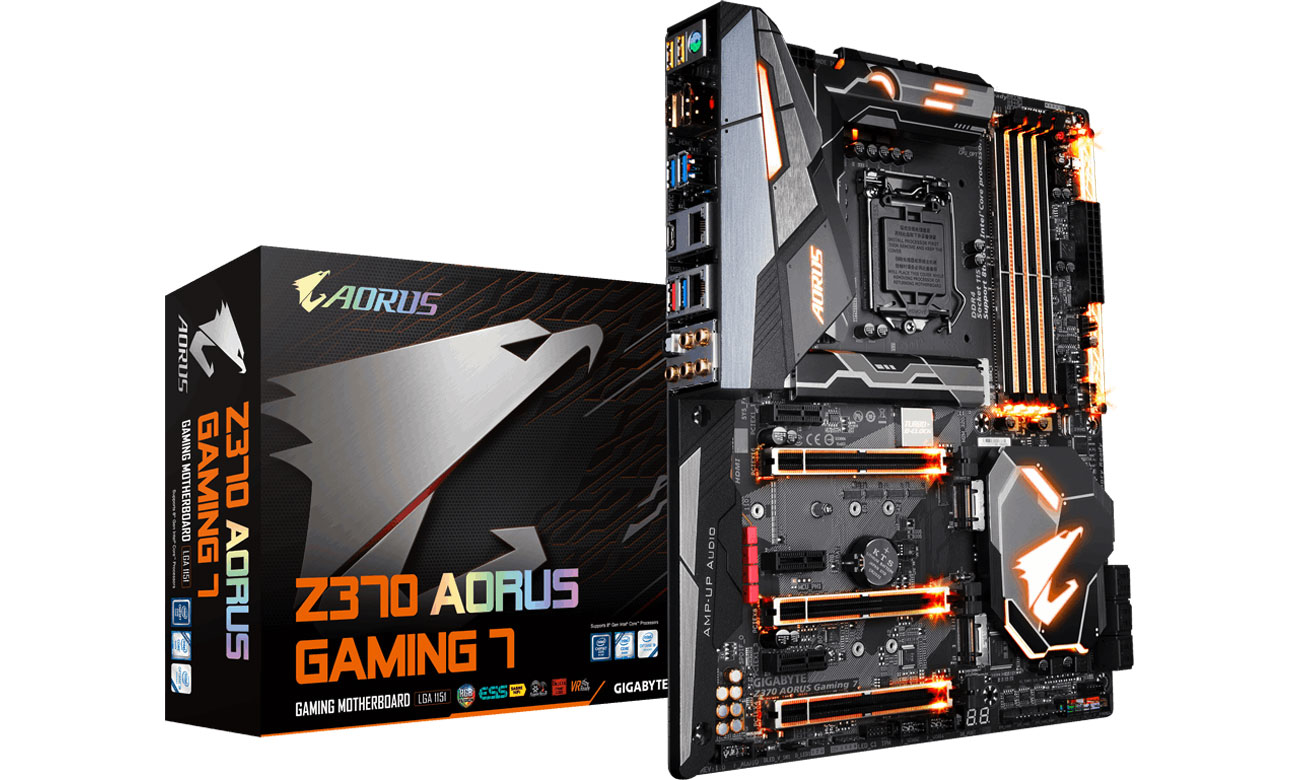 Płyta główna Socket 1151 Gigabyte Aorus Z370-Gaming 7 GA-Z370-GAMING7