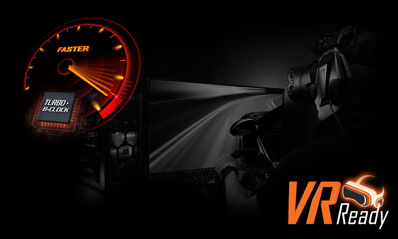 Gigabyte Aorus Z370-Gaming 7 Turbo B-Clock VR Ready