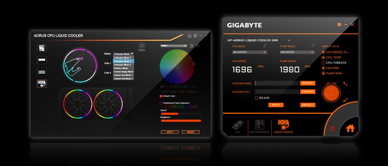 Aorus Engine, RGB Fusion 2.0