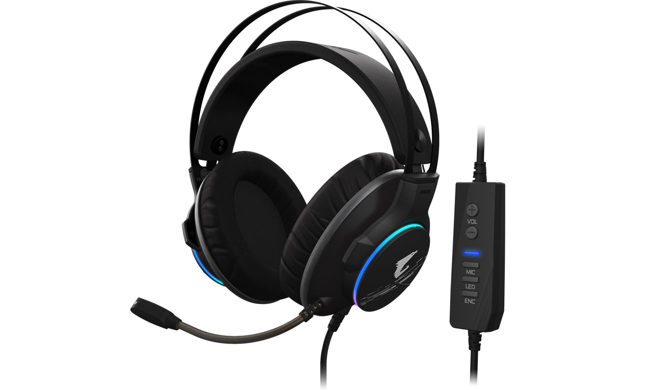 Zestaw słuchawkowy Gigabyte AORUS H1
