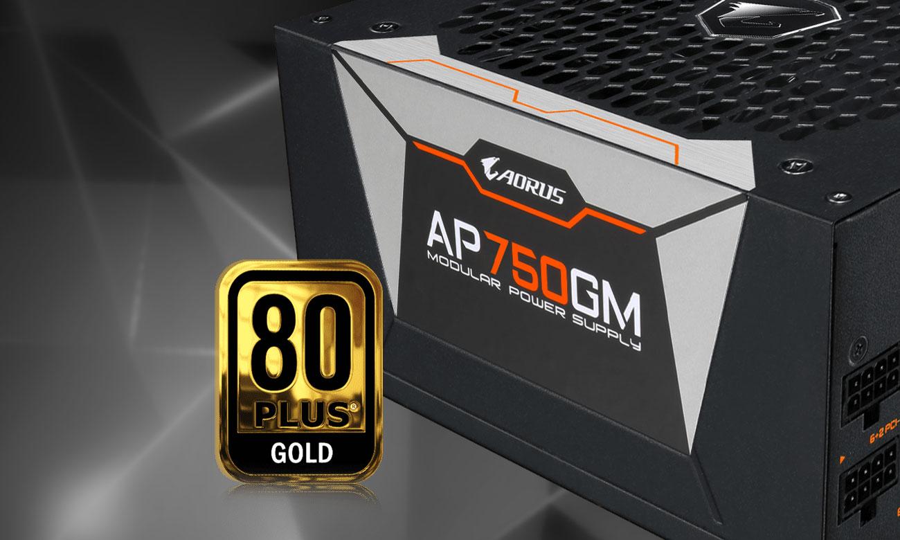 Aours P750W - 80 Plus GOLD