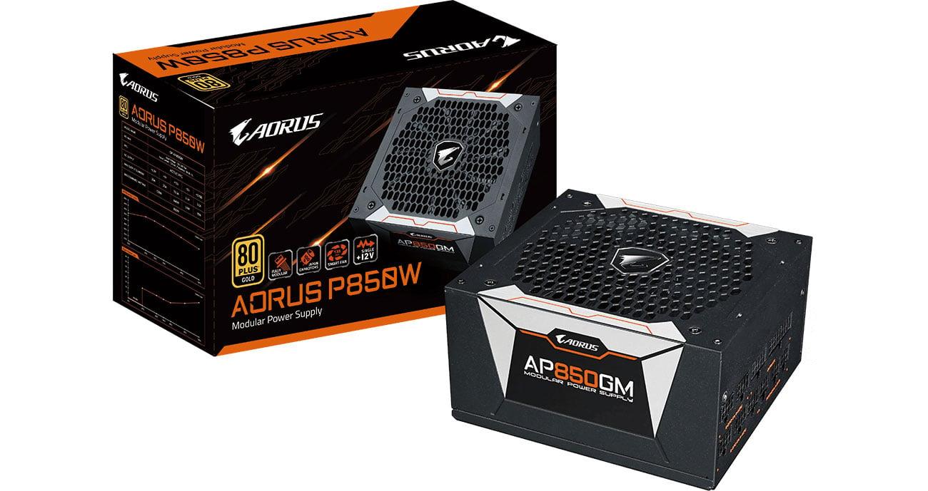 Zasilacz do komputera Gigabyte Aorus 850W 80 Plus Gold GP-AP850GM