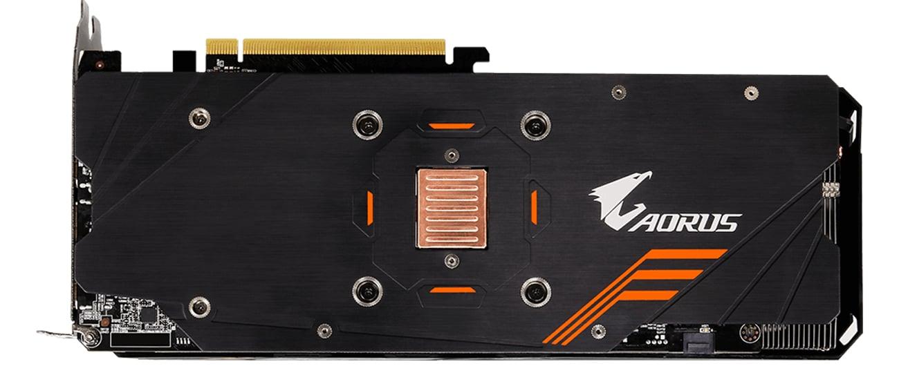 Gigabyte GeForce GTX 1060 Aorus Kompozytowe ciepłowody