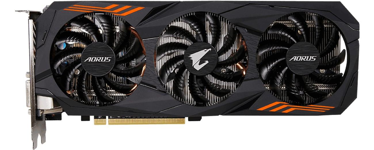Gigabyte GeForce GTX 1060 Aorus Podświetlenie RGB Fusion