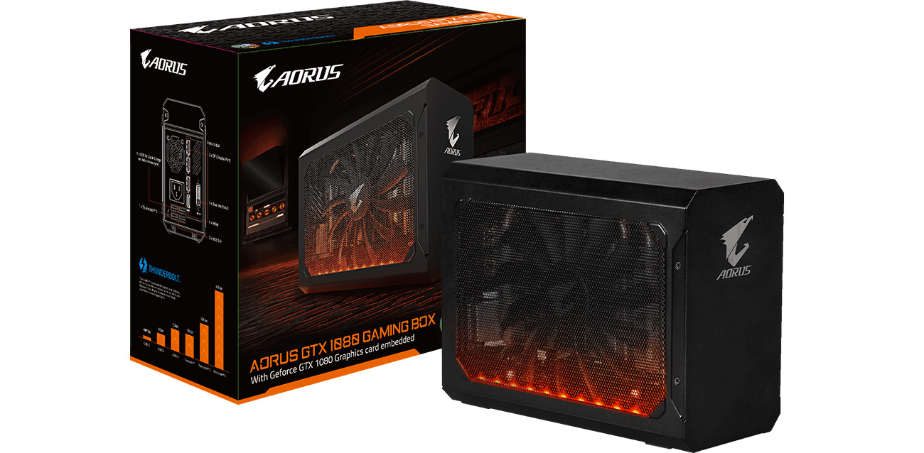 Gigabyte GeForce GTX 1080 AORUS Gaming BOX