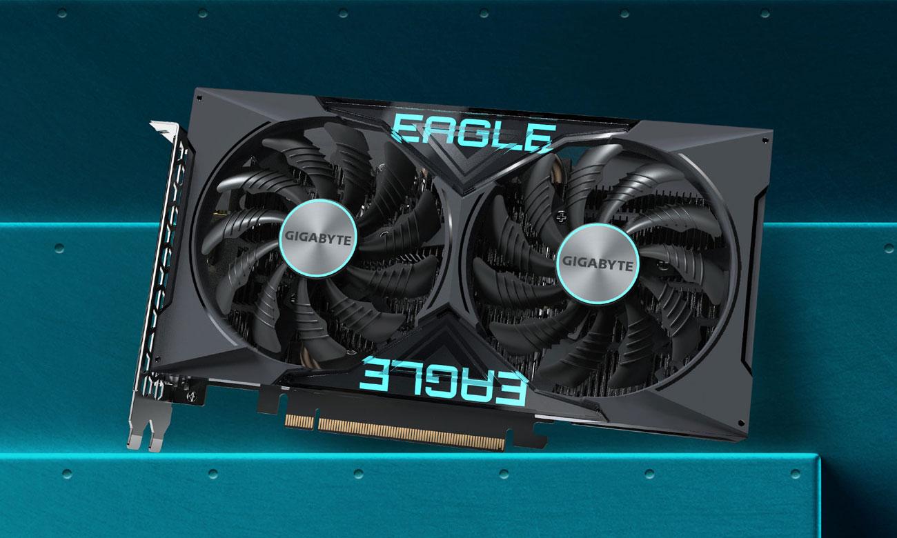 Gigabyte GeForce GTX 1650 D6 EAGLE OC 4GB - Chłodzenie