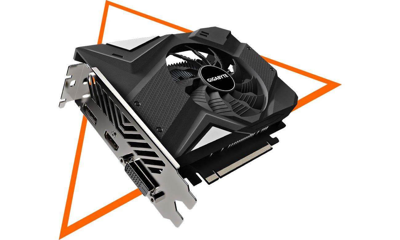 Gigabyte GeForce GTX 1650 D6 OC 4GB - Chłodzenie