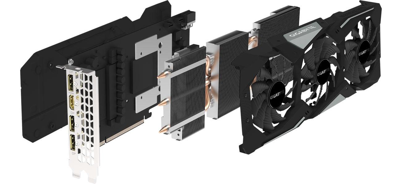 Gigabyte GeForce GTX 1660 Ti GAMING OC Chłodzenie