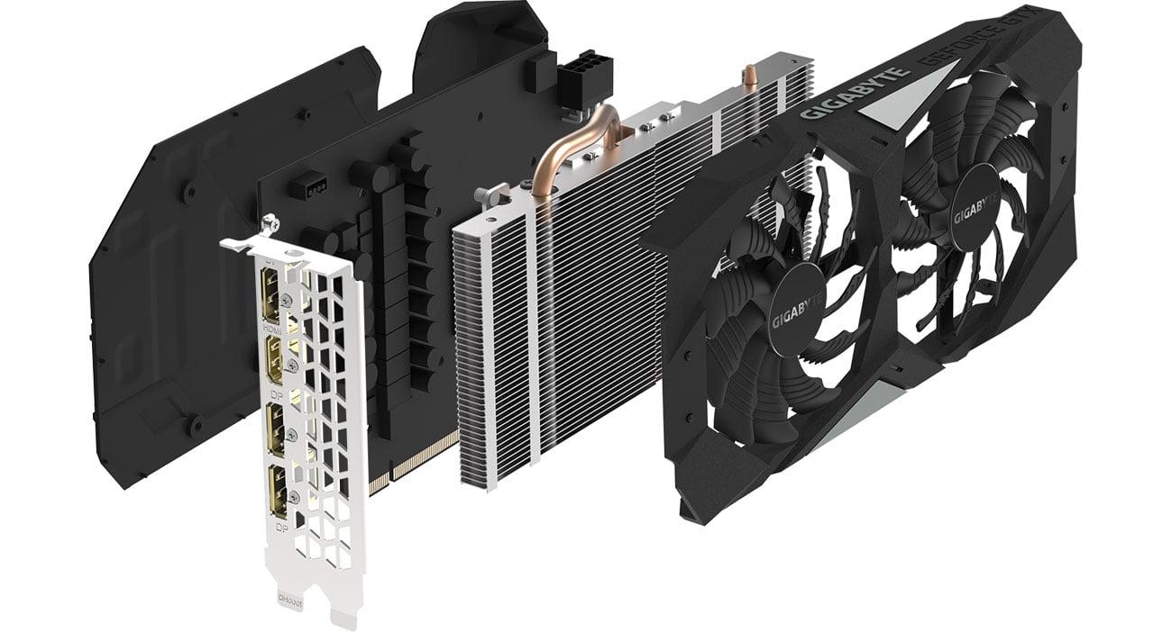 Gigabyte GeForce GTX 1660 Ti OC Chłodzenie