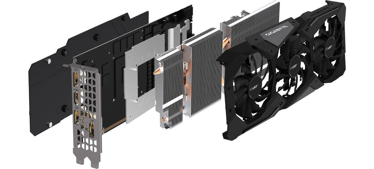 Gigabyte RTX 2060 GAMING OC Chłodzenie