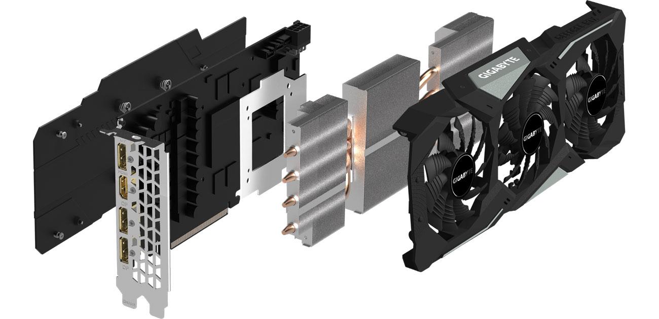 Gigabyte GeForce RTX 2060 GAMING OC PRO 2.0 - Chłodzenie