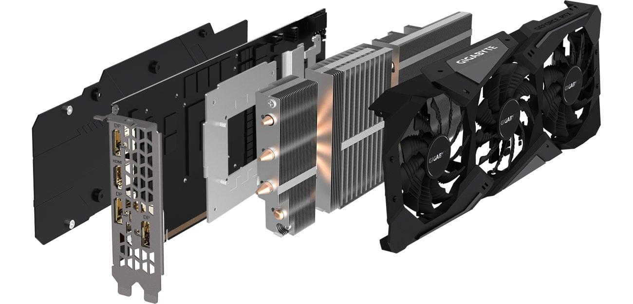 Gigabyte RTX 2060 GAMING OC PRO Chłodzenie