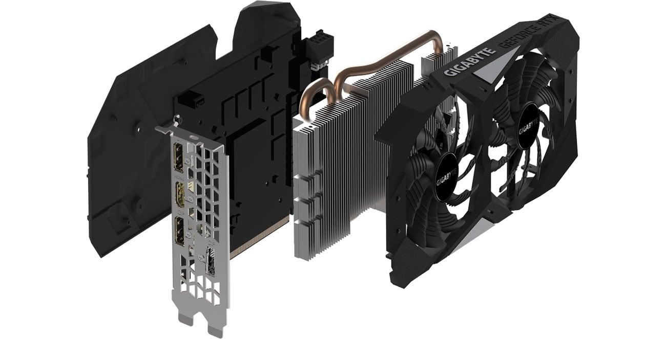 Gigabyte GeForce RTX 2060 OC Chłodzenia