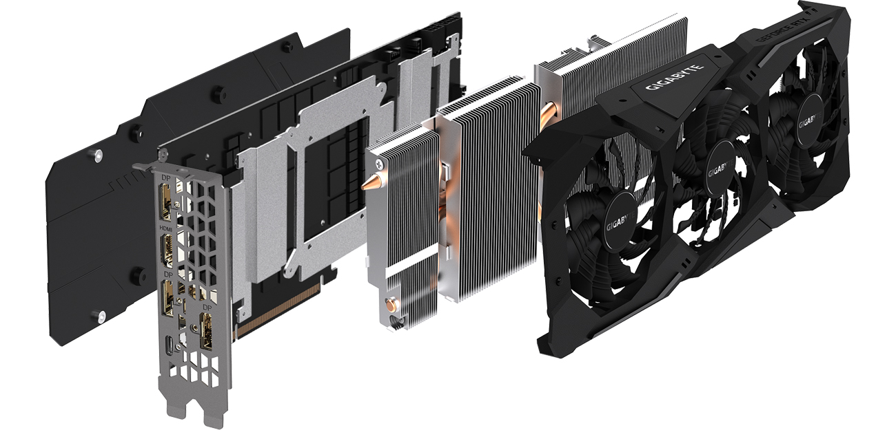 GeForce RTX 2070 WINDFORCE 8G GDDR6