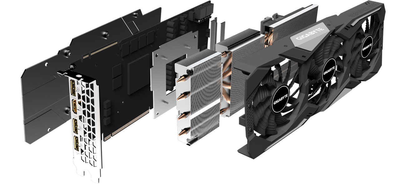 Gigabyte GeForce RTX 2070 SUPER GAMING OC 3X - Chłodzenie