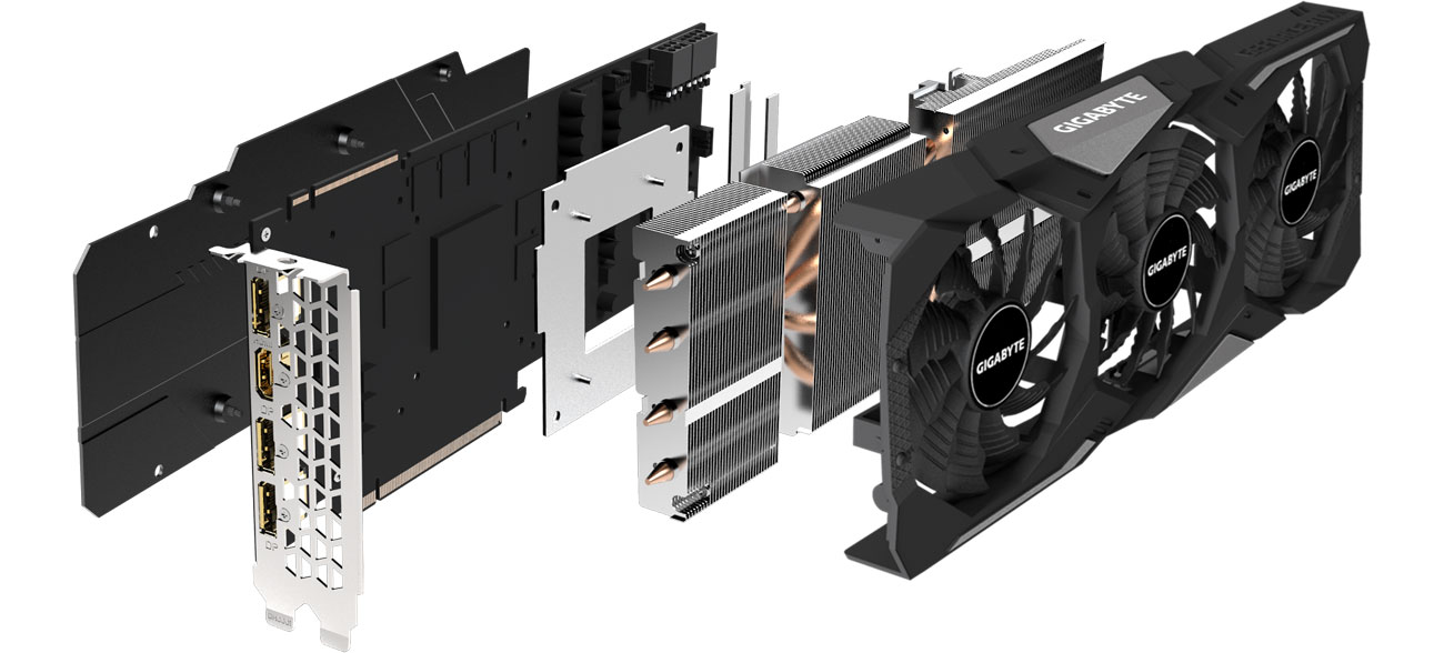Gigabyte GeForce RTX 2070 SUPER WINDFORCE OC 3X - Chłodzenie