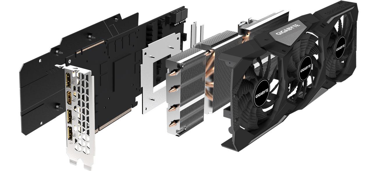 Gigabyte GeForce RTX 2080 Super WF OC - Chłodzenie