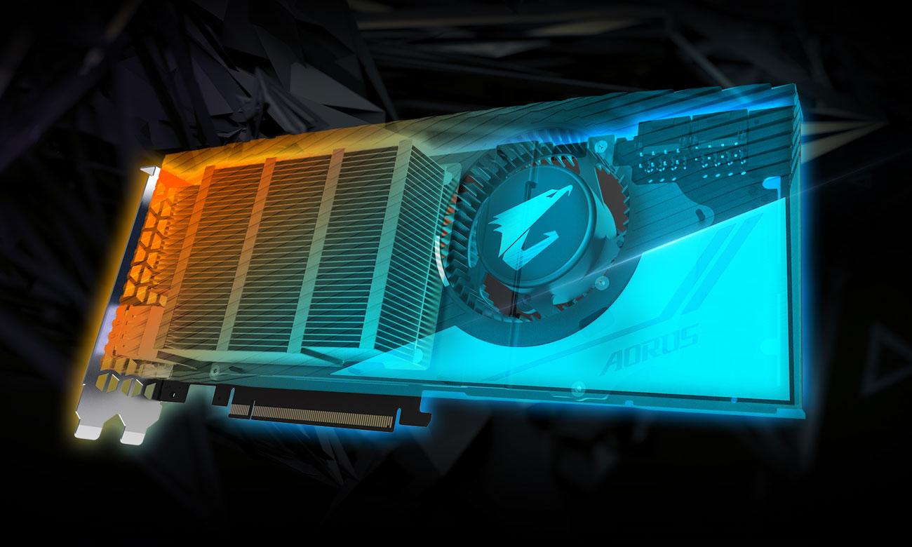 AORUS GeForce RTX 2080 Ti TURBO Technologia ray tracing