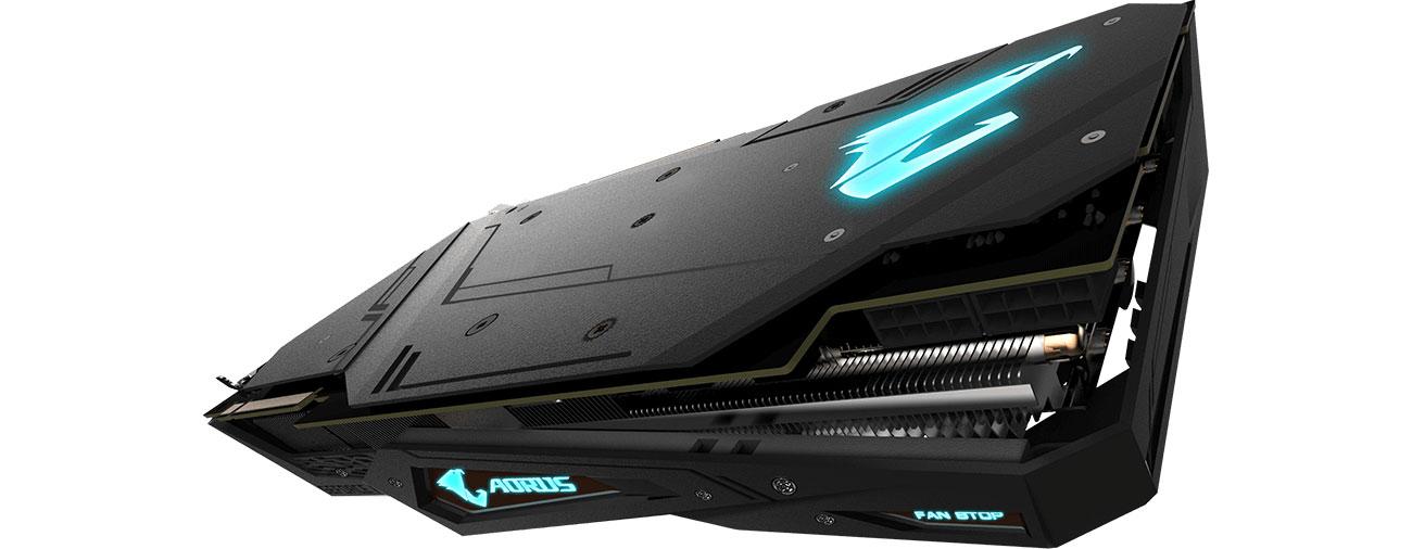 Gigabyte GeForce RTX 2080 Ti AORUS XTREME Backplate