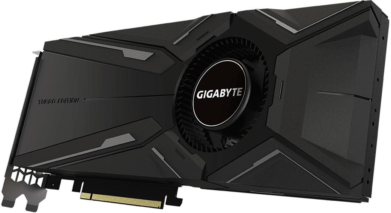 Gigabyte GeForce RTX 2080 Ti Turbo OC Trzy wentylatory