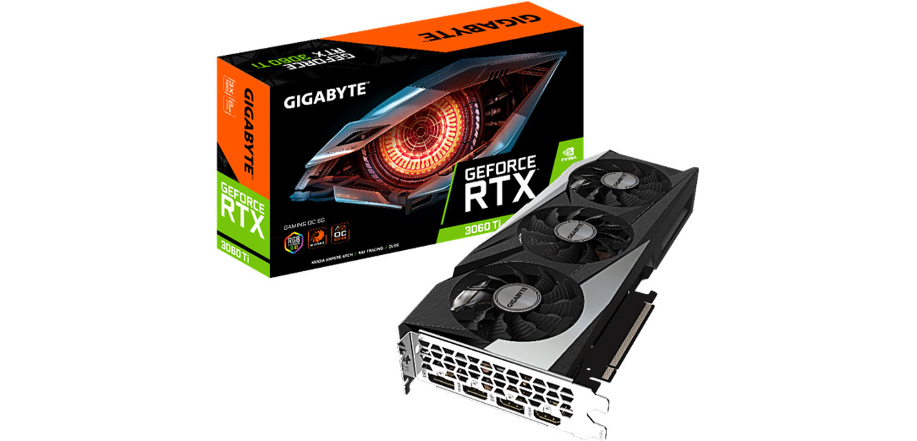 Karta graficzna NVIDIA Gigabyte GeForce RTX 3060 Ti Gaming OC 8GB GDDR6 GV-N306TGAMING OC-8GD