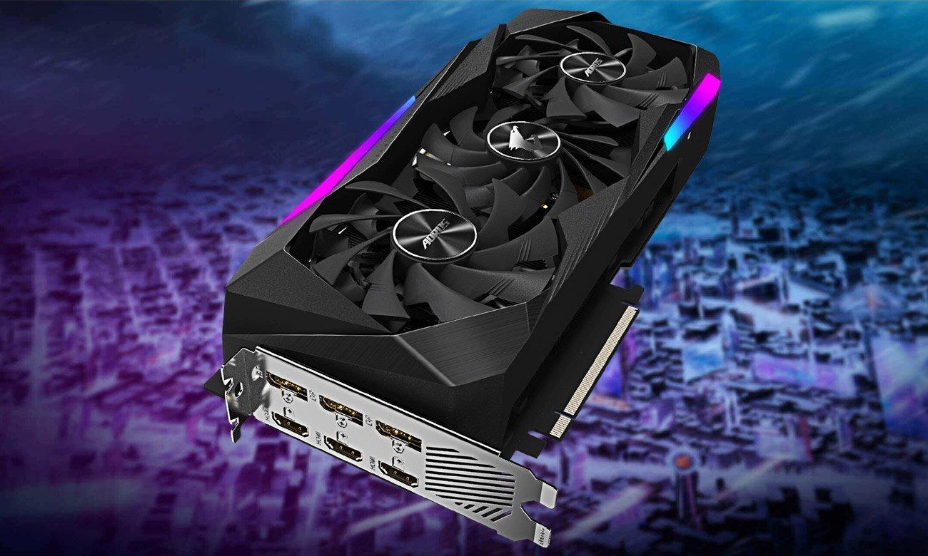 Gigabyte GeForce RTX 3070 AORUS MASTER 8GB GDDR6
