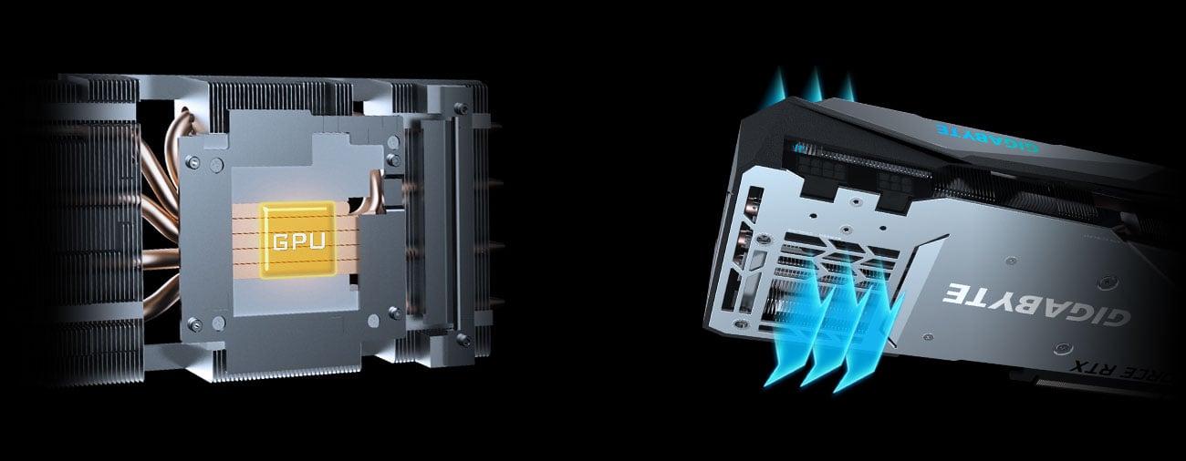 Gigabyte GeForce RTX 3070 GAMING OC - Chłodzenie